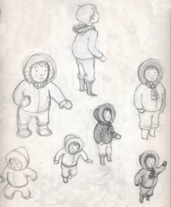 Character Sketches from Outside