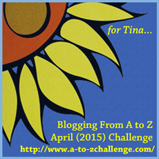 Click The Badge For More Information About The Blogging From A-Z Challenge.