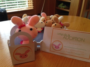 Michelle Eastman's Dust Bunny Adoption Kit