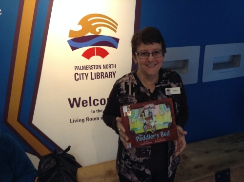 Robyn Wilson, Librarian at Palmerston North City Library in New Zealand