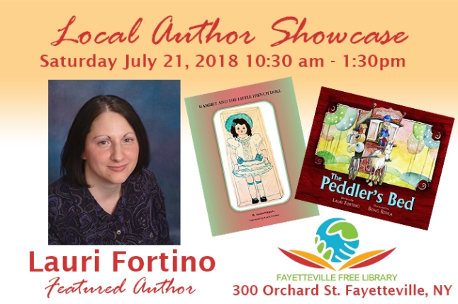 Author Showcase Lauri Fortino (1)